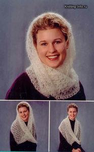 сколько петель набирать для вязания шарфа