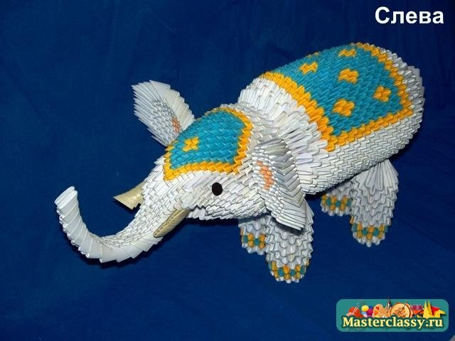 А веселого слоника-циркача