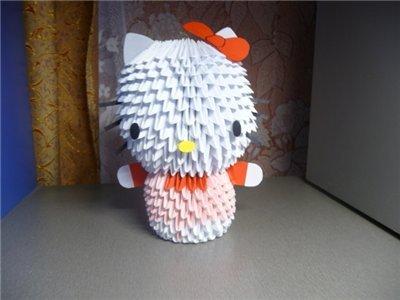 Модульное оригами схема сборки китти фото 226
