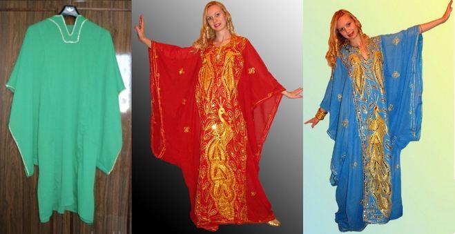 Платье в восточном стиле сшить