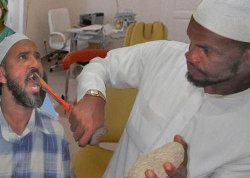 Личный стоматолог племени