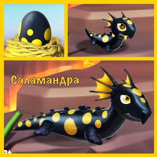 Легенды дракономании как сделать саламандру