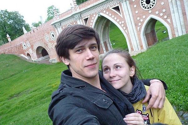 с женой фото