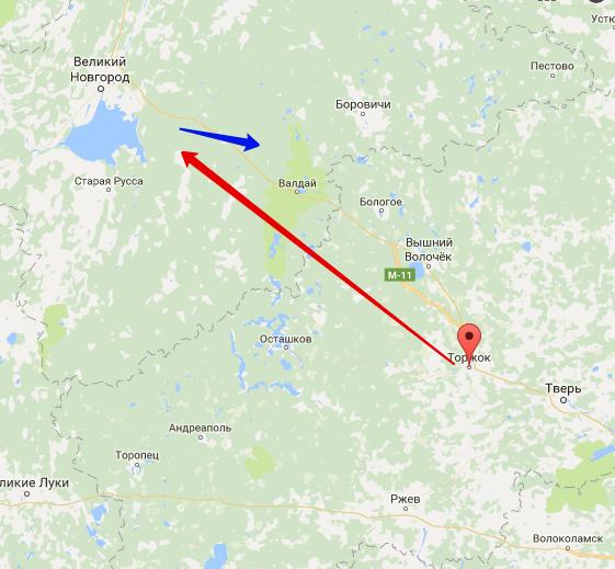 поход батыя на новгород карта