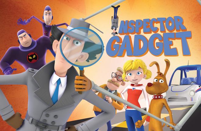 Как зовут персонажей мультфильма Инспектор Гаджет?