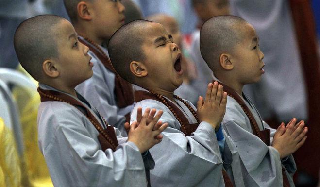 Невнимательность и рассеянность молитве