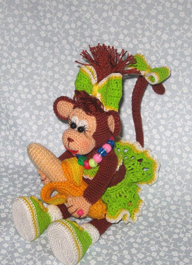 Как сделать игрушку обезьянку фото 290