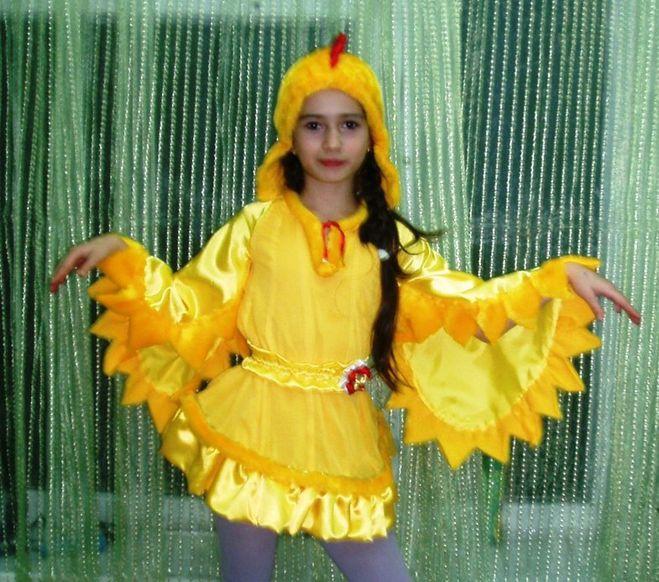 Костюм курицы своими руками для девочки