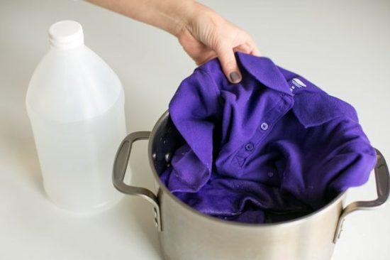 Столовый уксус для стирки белья, как применять, рецепты, секреты?
