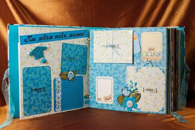 Как сделать своими руками детский альбом в детский сад