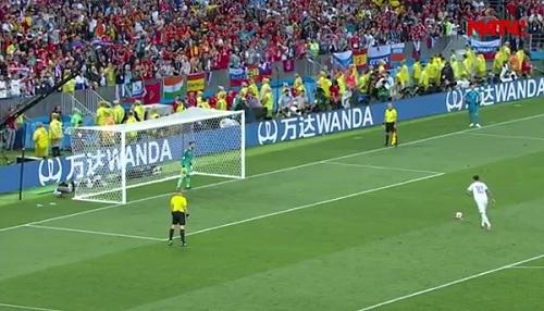 ЧМ-2018 матч между Россией и Испанией пенальти голы