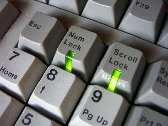 Как сделать постоянно включенным num lock