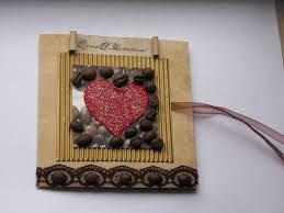 валентинка из пуговиц