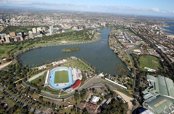 Альберт Парк. Мельбурн. Австрия