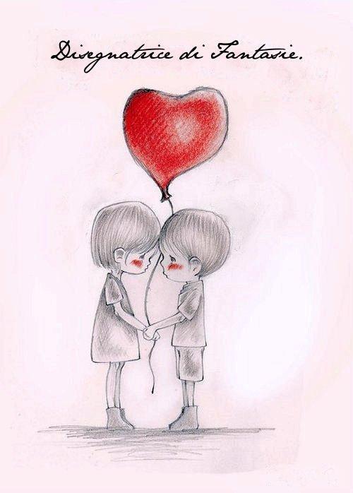 Про любовь рисованные