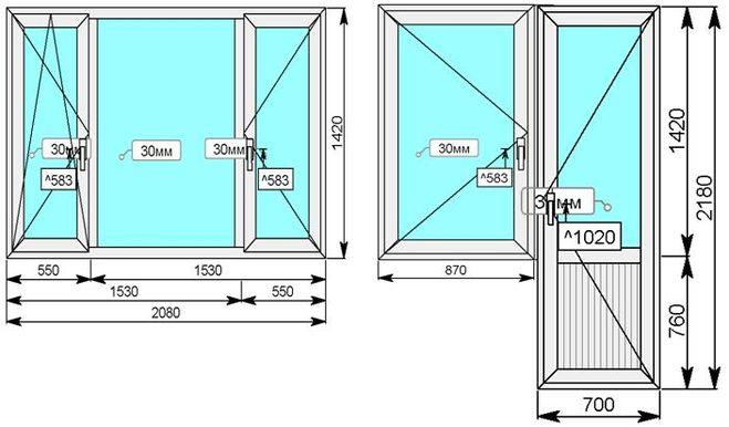 Почему в наших домах такие маленькие окна?.
