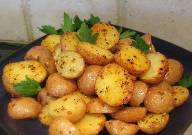 картошка просто