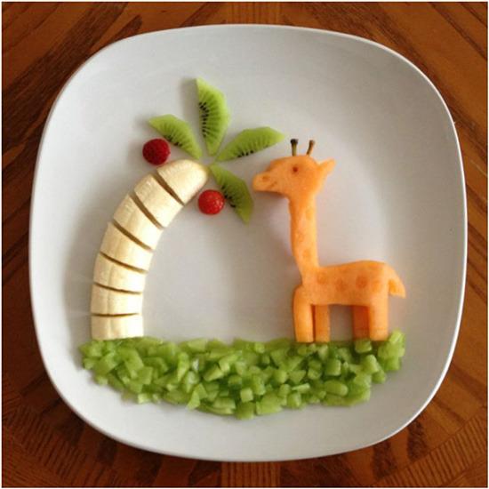 Что может сделать ребёнок из еды своими руками