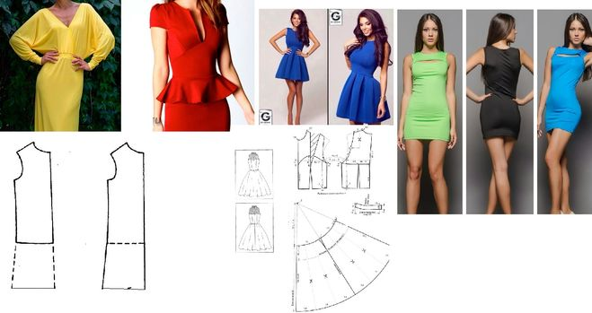 Что можно сшить по выкройке платья фото 18