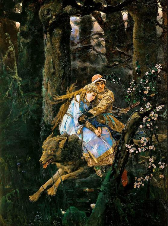 план к сочинению по картине Иван царевич на сером волке