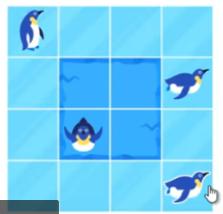 """Олимпиада """"Дино"""" 1 класс """"Пингвины на льду"""""""