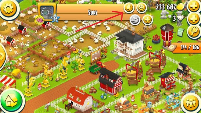 как в игре hay day много денег