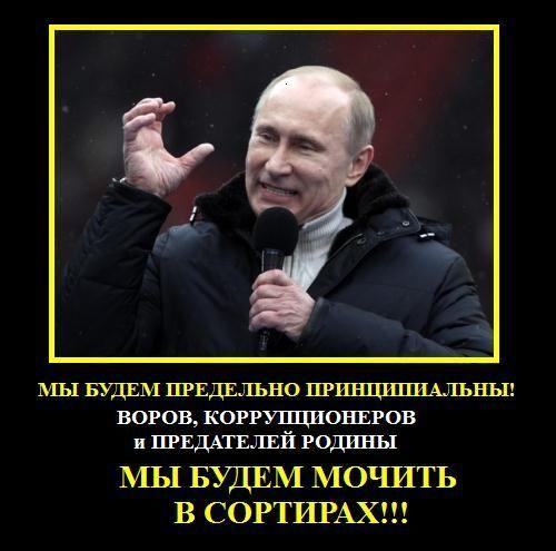 Путин мочит