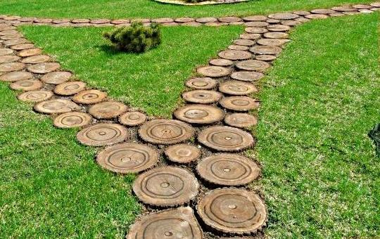 Из чего сделать садовые дорожки своими руками дешево