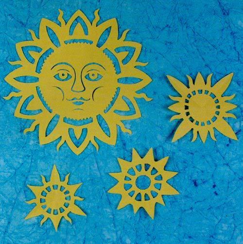 Солнце своими руками схема 190