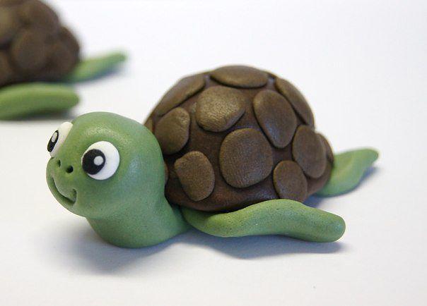 Как сделать игрушки из пластилина своими руками