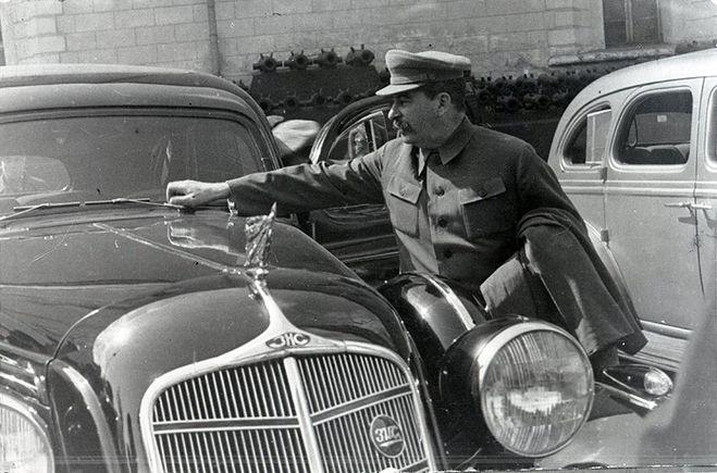 бронированный автомобиль Сталина, ретро авто