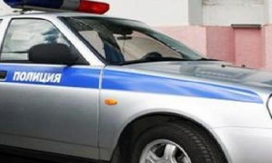 российская полицейская машина