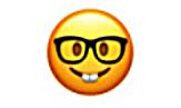 смайлик в очках с зубами значение