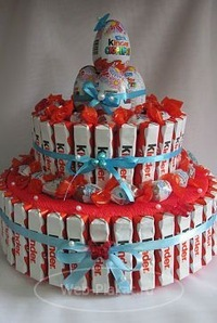 Торт из конфет своими руками детский