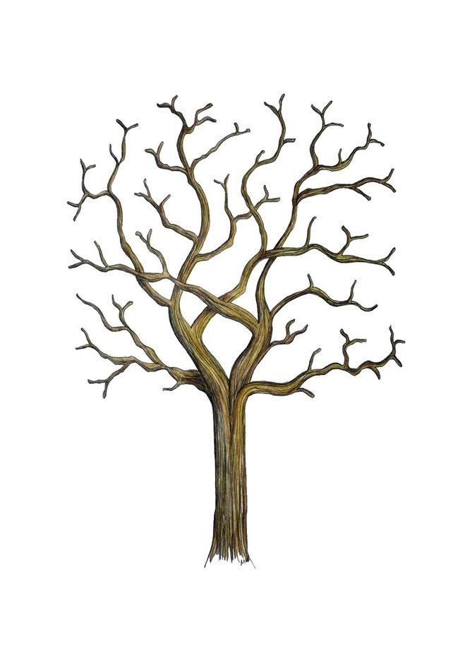 Как сделать поделку дерево из дерева