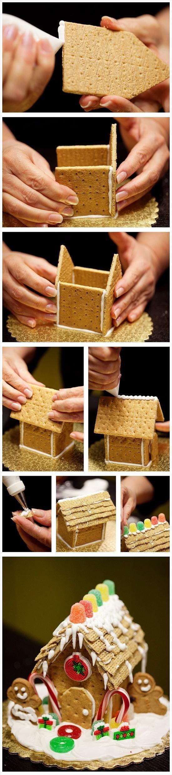 Пряничный домик из дерева своими руками 1