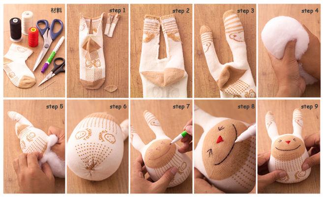 Как сделать игрушку для девушки своими руками