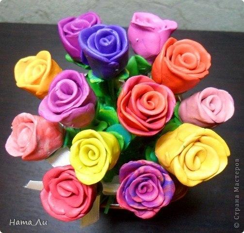 Поделки роз на день мамы