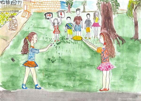 Что могут рисовать в детском лагере