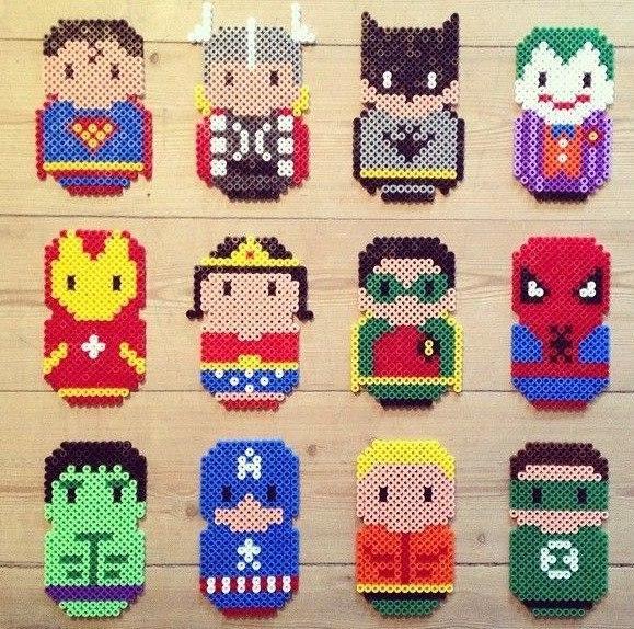 Вышивка крестом супергероев