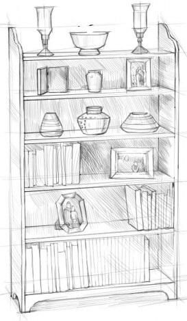 Рисуем шкаф 4