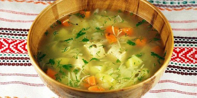 сколько вермишели класть в куриный суп на 3 литра воды