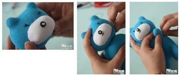 Как сделать мягкую игрушку легко и быстро
