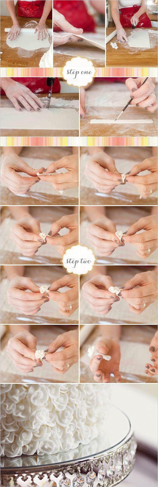 Как сделать украшение торта своими руками 6