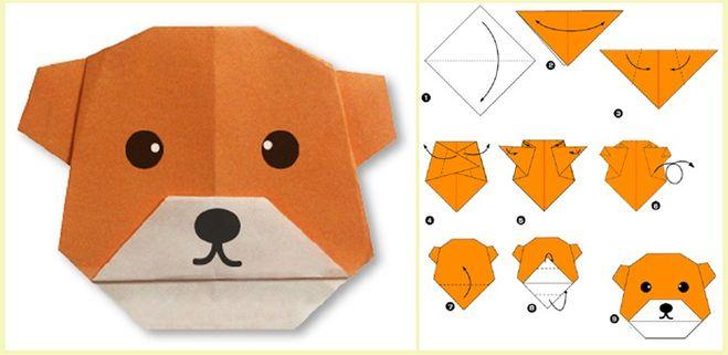 Как сделать животное оригами