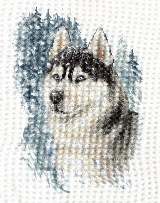 Схемы вышивка крестом собака