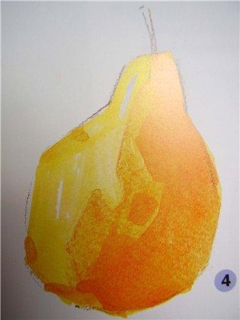 добавляем больше оранжевого