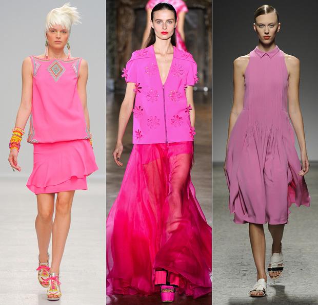 Модный цвет фуксии