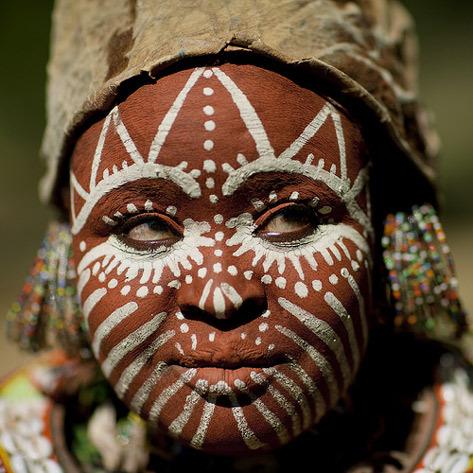текст при наведении - Кения, племя Kikuyu