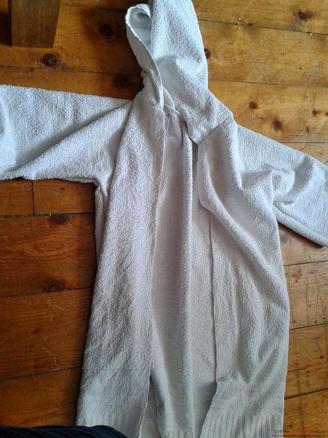 Сшить из полотенца для ребенка